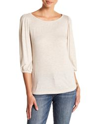 Kut From The Kloth - Kacy Boatneck Peasant Top - Lyst