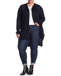 Joe Fresh - Belted Knit Cardigan (plus Size) - Lyst