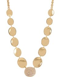 Melinda Maria - Anthony Pod Pave Necklace - Lyst