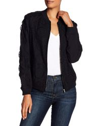 Opening Ceremony - Anglaise Long Sleeve Bomber Jacket - Lyst