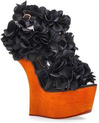Privileged - Zadie Rosette Concave Sandal - Lyst