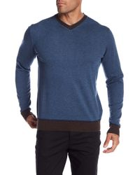 Robert Graham - Rochester V-neck Knit Jumper - Lyst