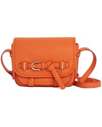 Etienne Aigner - Filly Stag Saddle Crossbody - Lyst