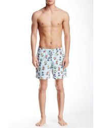 Spenglish - Maraca Man Printed Swim Trunk - Lyst
