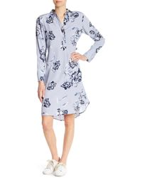 Joe Fresh - Floral Print Dress - Lyst