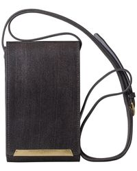 Most Wanted Usa - Cellphone & Card Holder Crossbody Bag - Lyst