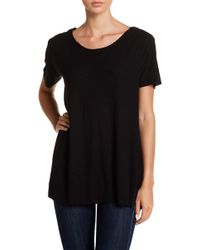 Michelle By Comune - Boxy Chest Pocket Tee - Lyst