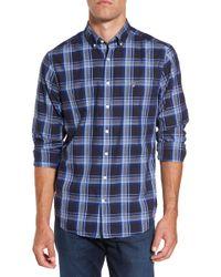 Gant | Tech Oxford Plaid Sport Shirt | Lyst