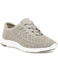 Cole Haan - Zerogrand Genevieve Perforated Trainer - Lyst
