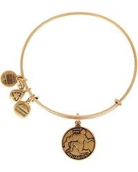 ALEX AND ANI - Aquarius Ii Expandable Wire Bangle - Lyst