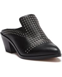 1.STATE - Lon Leather Casual Studded Mule - Lyst