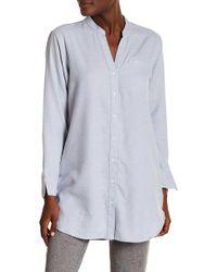 UGG - Vivian Herringbone Sleep Shirt - Lyst