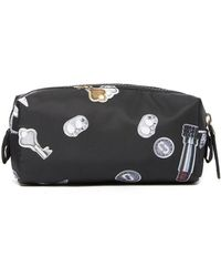 553bb28f581e Lyst - Marc Jacobs Quilted Small Cosmetic Case in Black