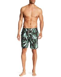 Quiksilver - Cutout Volley Board Shorts - Lyst