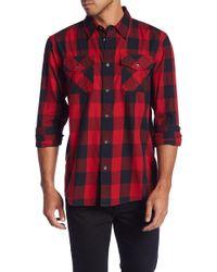 True Religion - Plaid Western Fit Shirt - Lyst