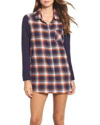 Make + Model - Flannel Nightshirt - Lyst