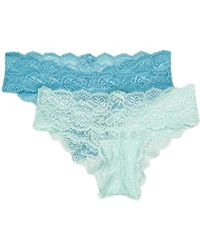 Skarlett Blue - Goddess Lace Bikini - Pack Of 2 - Lyst