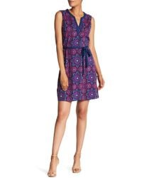 Tommy Bahama - Geometric Short Dress - Lyst