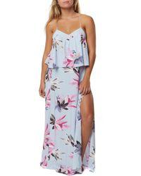 O'neill Sportswear - Milly Strappy Maxi Dress - Lyst
