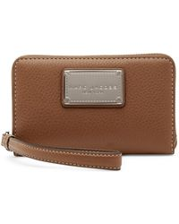 Marc By Marc Jacobs - Classic Leather Zip Phone Wallet - Lyst