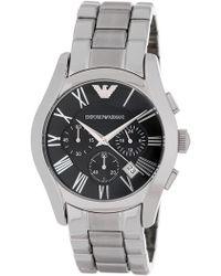 Emporio Armani - Men's Valente Chronograph Bracelet Watch, 42.5mm - Lyst