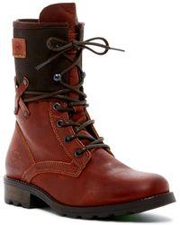 PLDM - Ukange Leather Lace-up Boot - Lyst