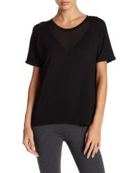 Marc New York - Mesh Inset Short Sleeve Shirt - Lyst