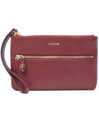 Lodis - Colleen Small Leather Wristlet Clutch - Lyst