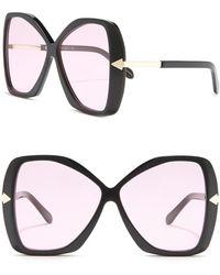Karen Walker 60mm Mary Butteryfly Sunglasses