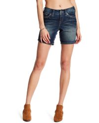 Silver Jeans Co. - Suki Mid Rise Short - Lyst