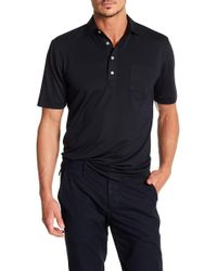 Peter Millar - Solid Stretch Mesh Pocket Polo - Lyst