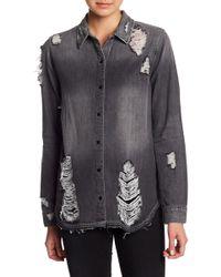 Joe's Jeans - Vera Denim Shirt - Lyst