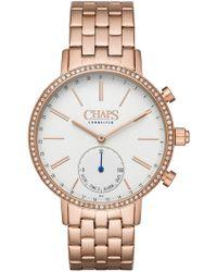 Chaps - Whitney Crystal Bracelet Hybrid Smart Watch, 40mm - Lyst