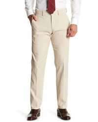 "Kenneth Cole Reaction - Performance Twill Techni-cole Slim Fit Pants - 29-34"" Inseam - Lyst"