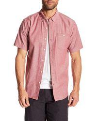 Ezekiel - Zebo Short Sleeve Regular Fit Shirt - Lyst