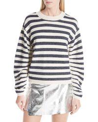 Ba&sh - Sunday Stripe Wool Blend Sweater - Lyst