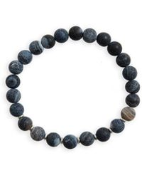 Link Up - Agate Bead Bracelet - Lyst