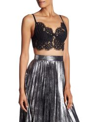 Dress Forum - Underwire Lace Bralette - Lyst