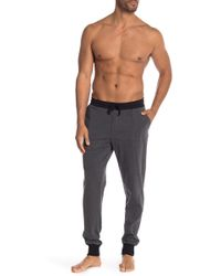 Unsimply Stitched - Contrast Trim Lounge Joggers - Lyst