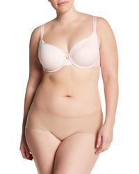 Curvy Couture - Cotton Luxe T-shirt Bra (c-h Cups) - Lyst