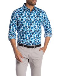 Robert Graham - Above The Clouds Patterned Long Sleeve Classic Fit Shirt - Lyst
