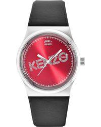 KENZO - Women's Dix-huit Quartz Watch - Lyst