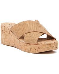 Donald J Pliner - Savee Wedge Sandal - Lyst