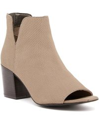 Kenneth Cole Reaction - Ride Fast Perforated Bootie - Lyst