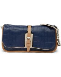 Longchamp - More Is More Embossed Leather Baguette - Lyst