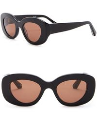 7fb5429cf3 Elizabeth and James - Fray 47mm Oversized Oval Sunglasses - Lyst