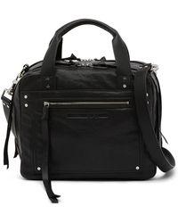 McQ - Medium Leather Duffle - Lyst