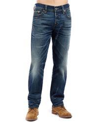 True Religion - Geno Straight Leg Jeans - Lyst