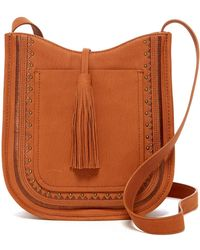 Lucky Brand - Zori Leather Crossbody Bag - Lyst