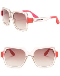 189c96a6be0 Lyst - Mcq Square Frame Sunglasses in Black